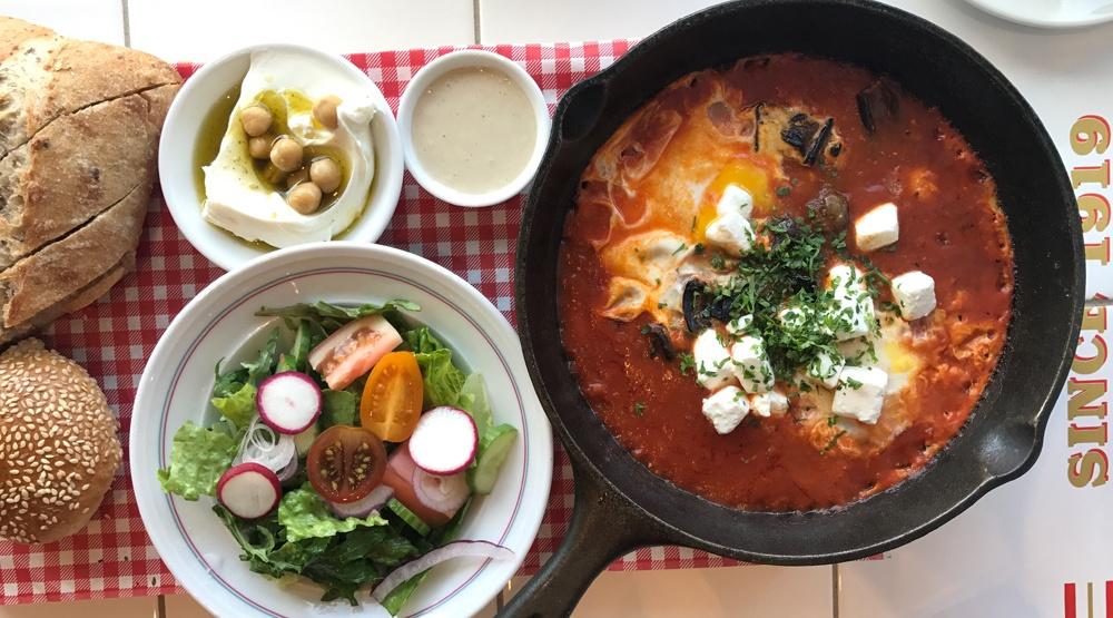 Inside Cafe Landwer: A new destination for Israeli brunch