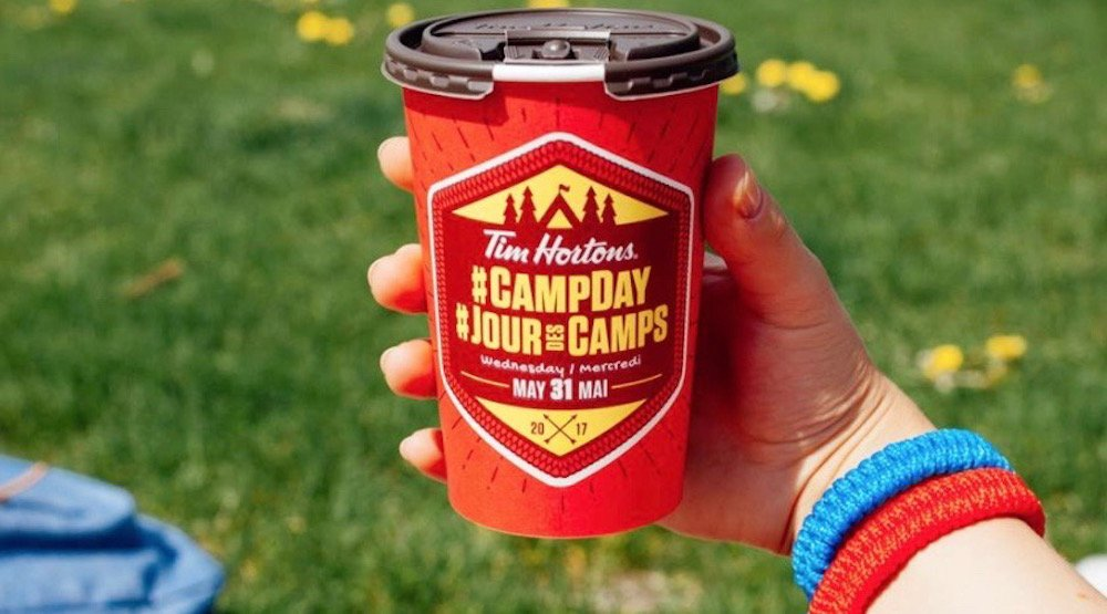 Grab your coffee from Tim Hortons today and support Camp Day