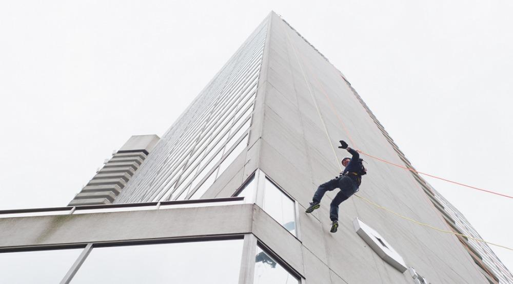 Rappel down a skyscraper for a good cause this July
