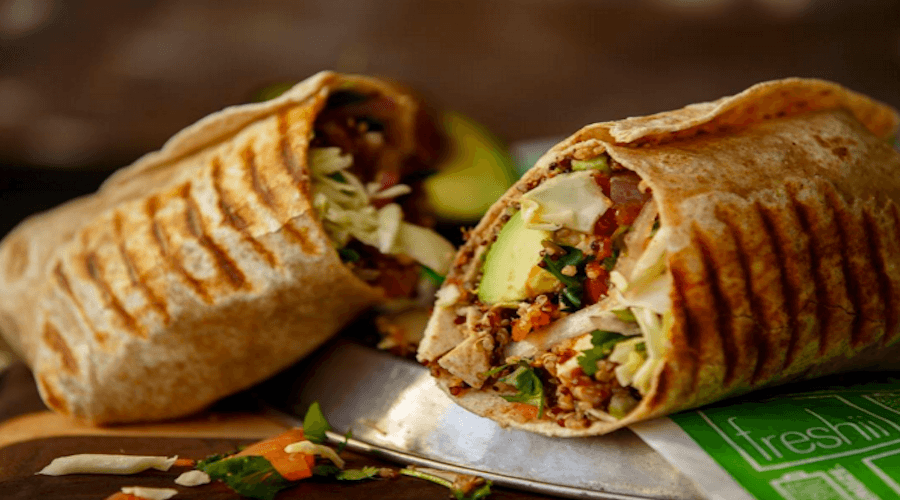 Vancouver Cheap Eats: Wraps
