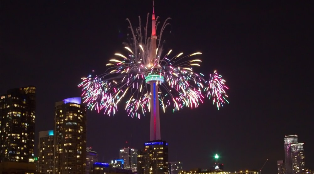 CN Tower to get massive fireworks show on Canada Day