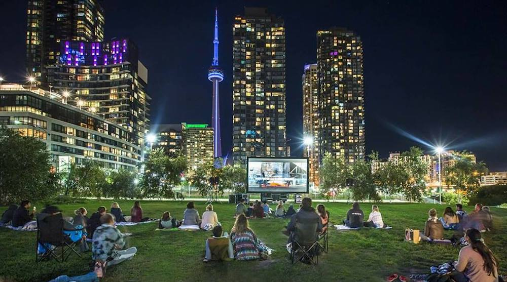 Every outdoor movie night in Toronto this summer