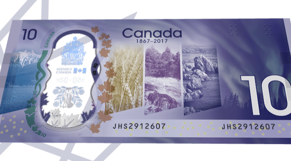 Canada gets a new $10 for its 150th birthday