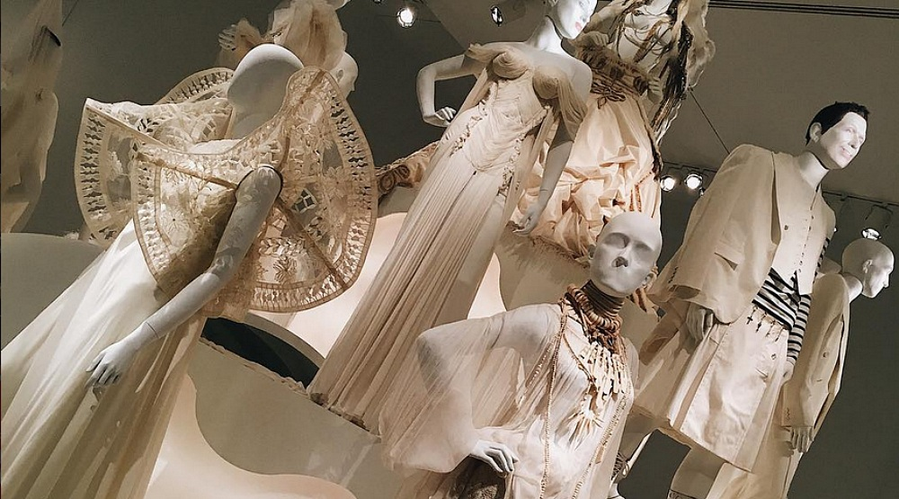 Jean-Paul Gaultier's couture bridal creations are on display in Montreal