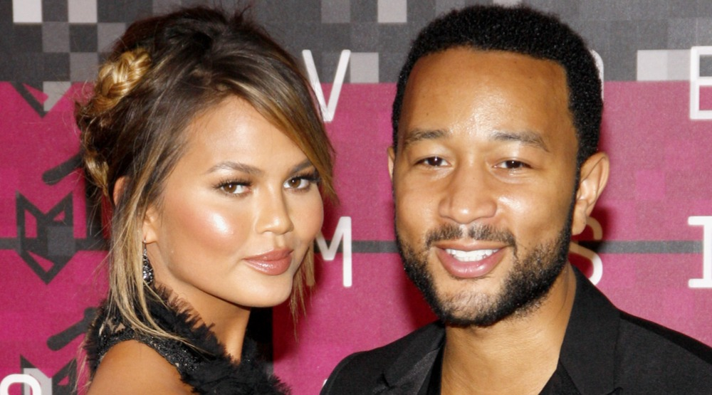 Chrissy Teigen visits Vancouver, gets dining tips from Seth Rogen