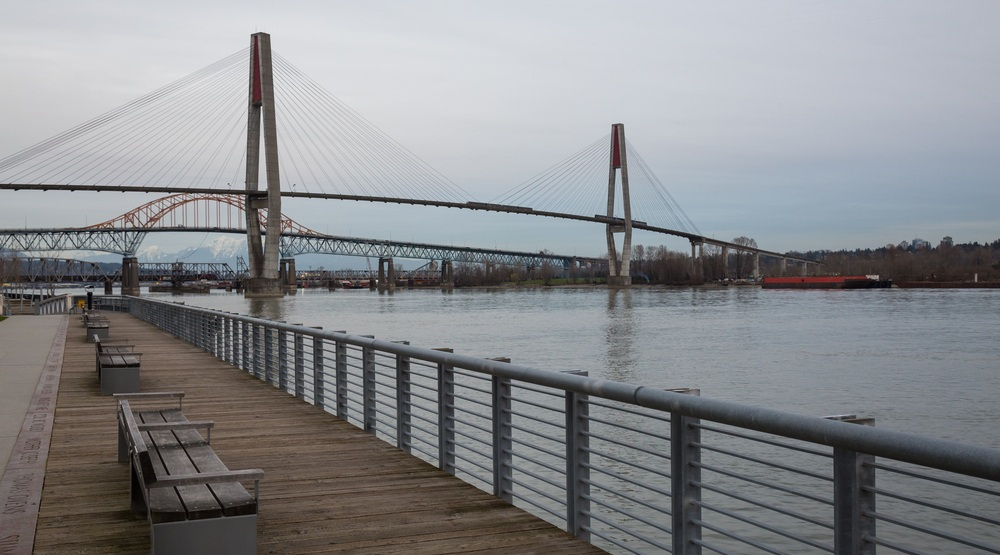 Fraser river new westminster