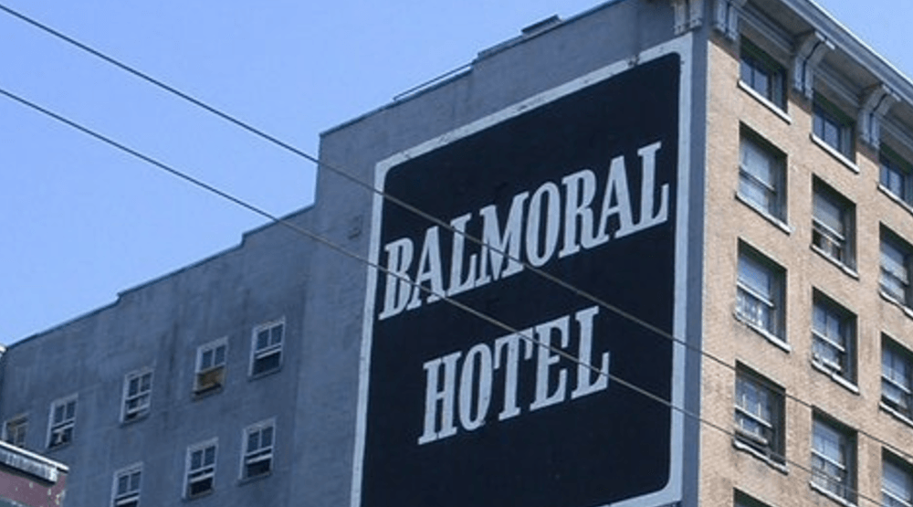 City of Vancouver files expropriation notice for Balmoral and Regent Hotels