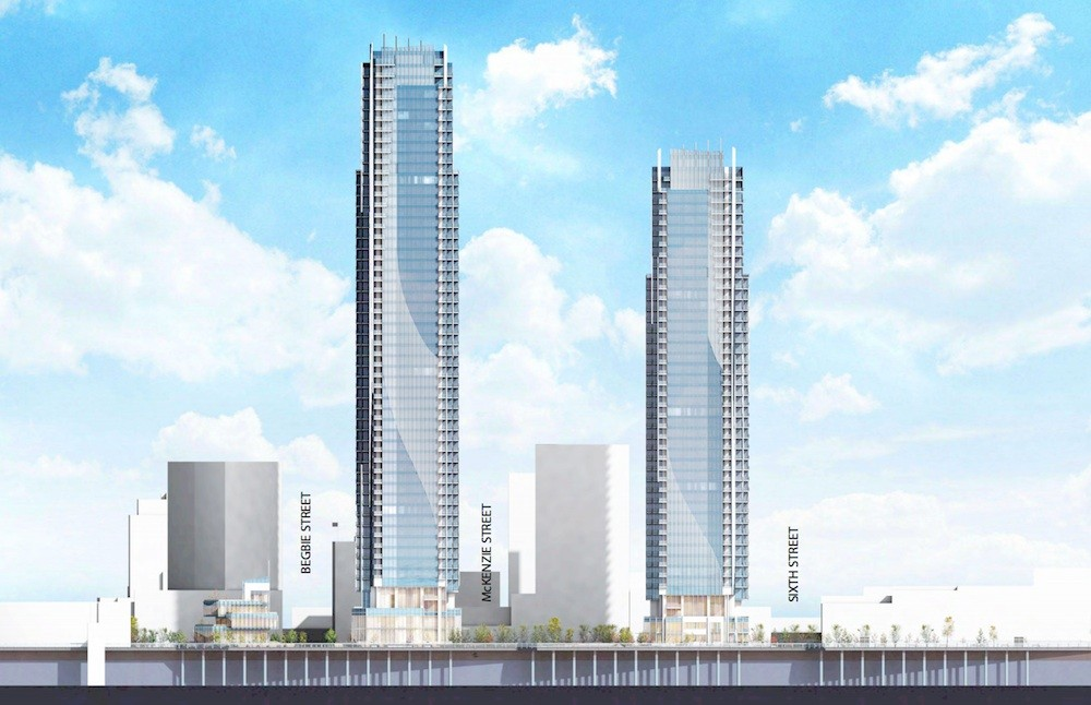 Giant New Tower Proposed For New Westminster Waterfront
