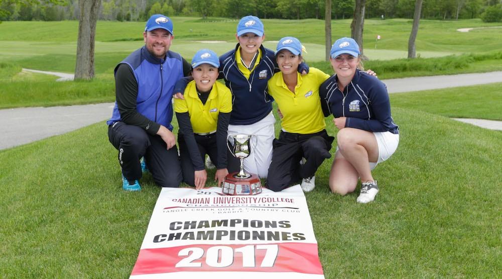Ubc womens golf team