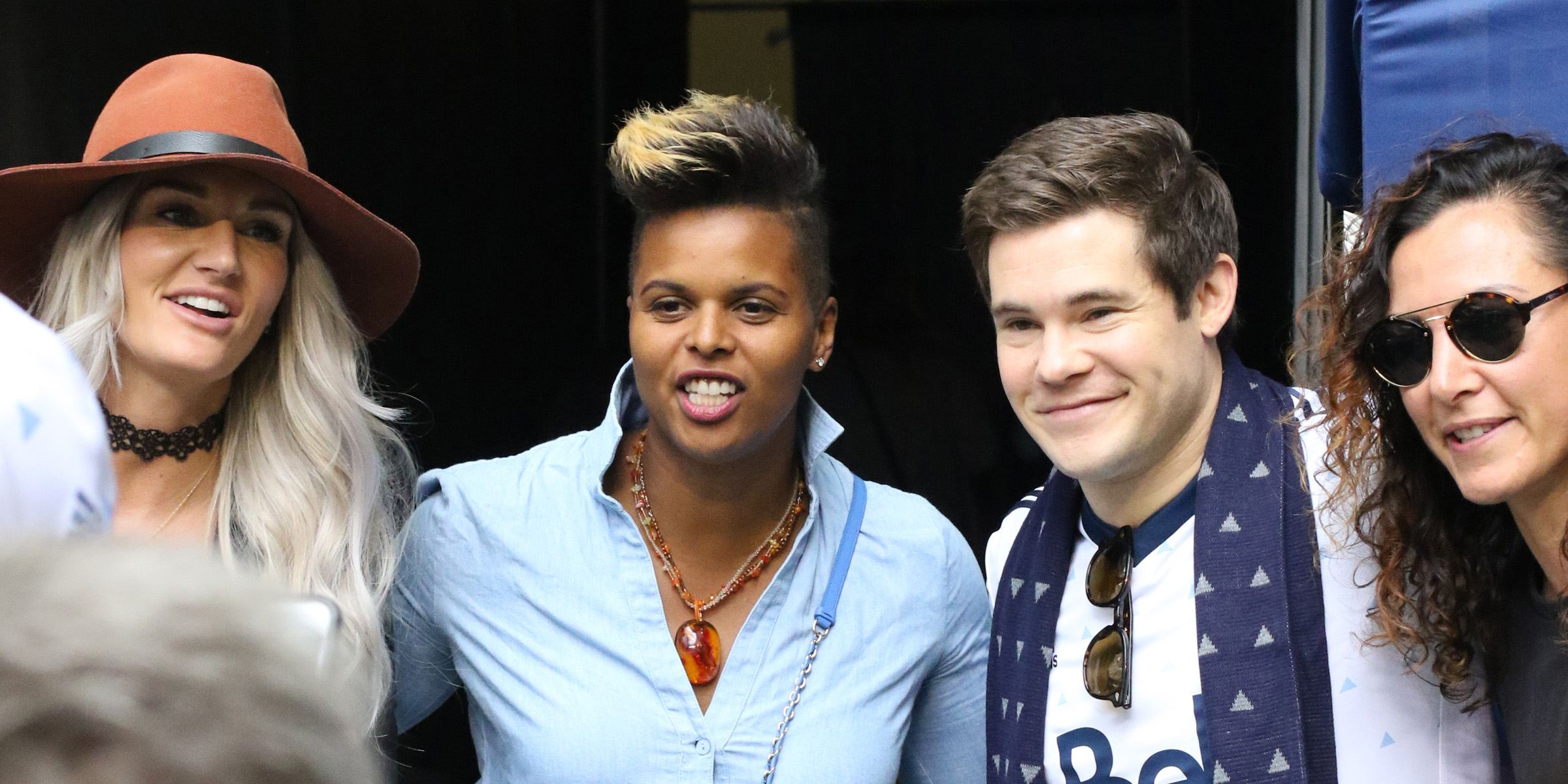 Spotted: Adam Devine and Blake Anderson enjoy Whitecaps game (PHOTOS)