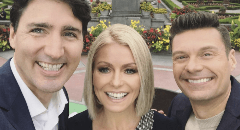 Justin Trudeau talks sex appeal and Trump on Live with Kelly and Ryan