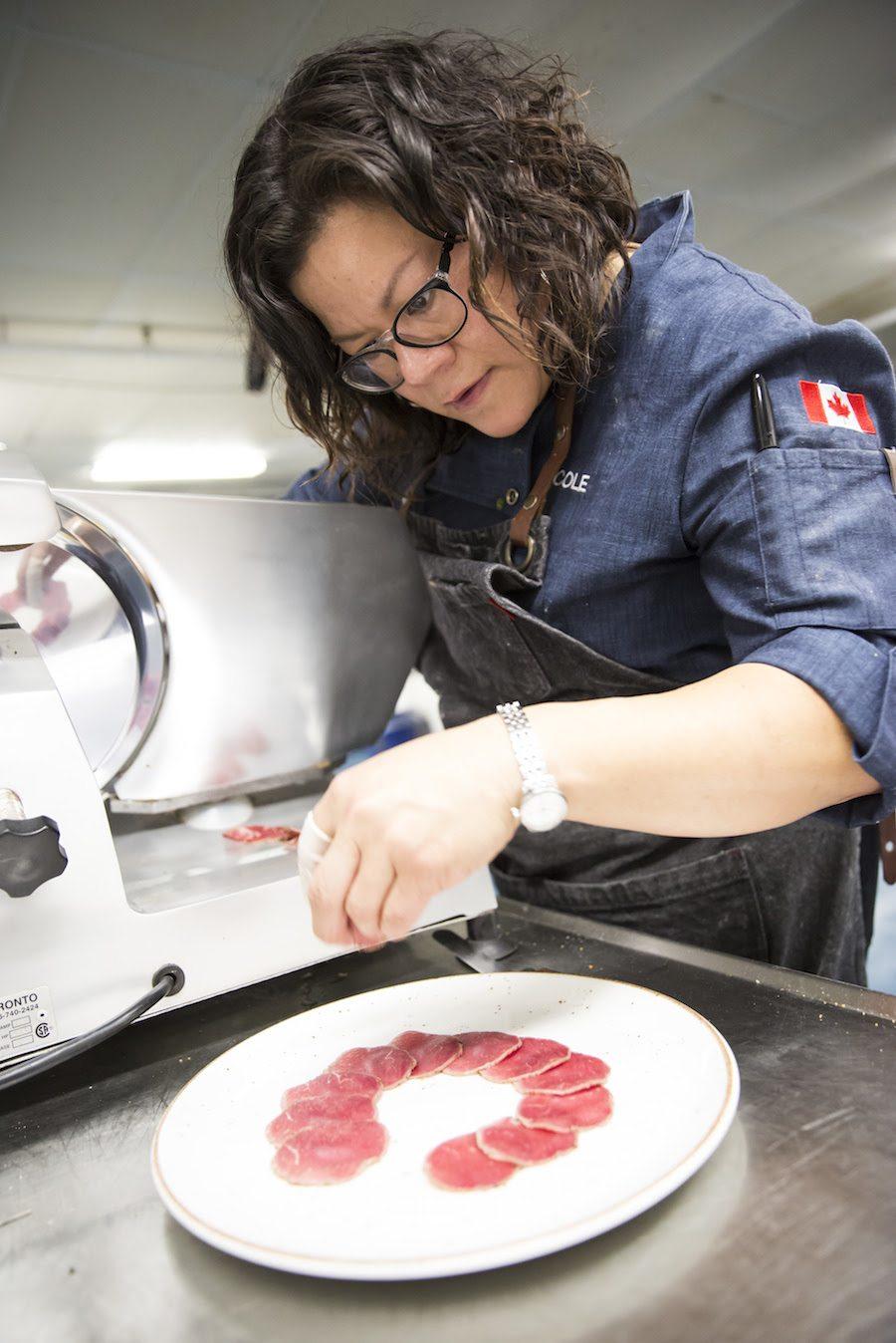 Chef Nicole Gomes