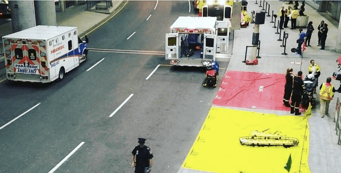Emergency response exercises at Pearson airport over the weekend (PHOTOS)