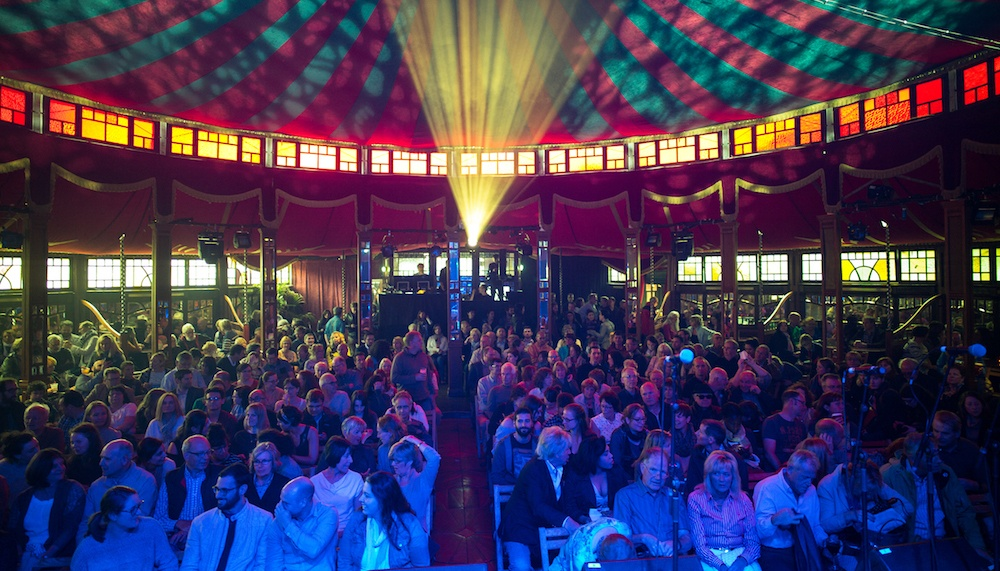 The famous spiegeltent photo by thierry franco