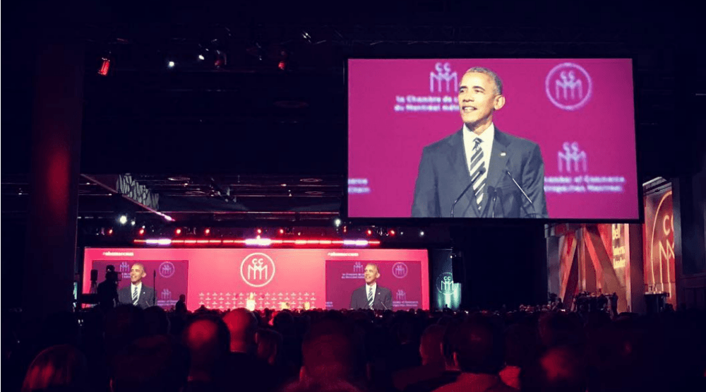 22 photos and videos of Barack Obama in Montreal
