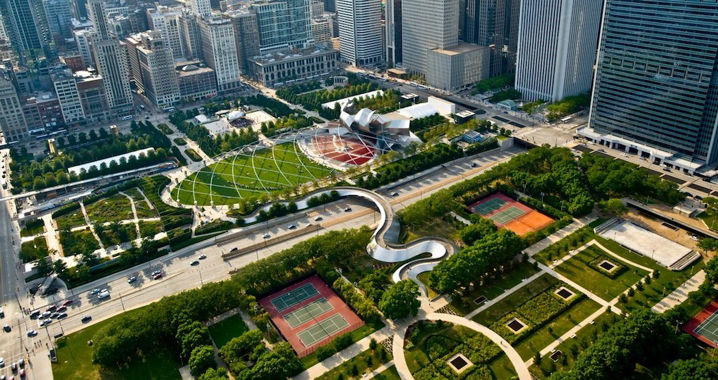 Mayor Tory was in Chicago to get ideas for Toronto's new downtown park