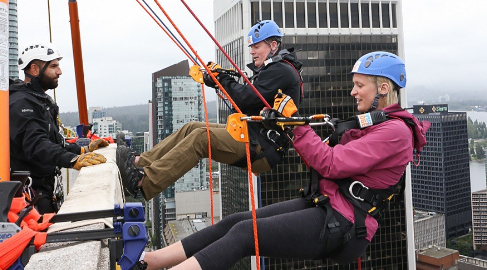 Now you can rappel down a 36-storey skyscraper this July