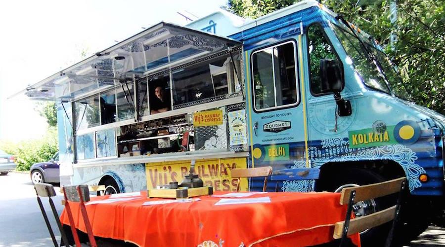Vijs railway express food truck
