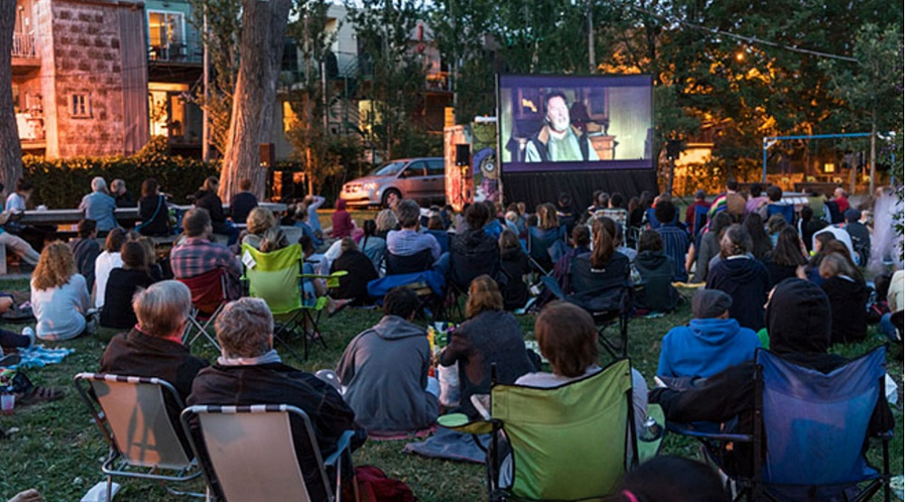 A free outdoor cinema is coming to the Plateau