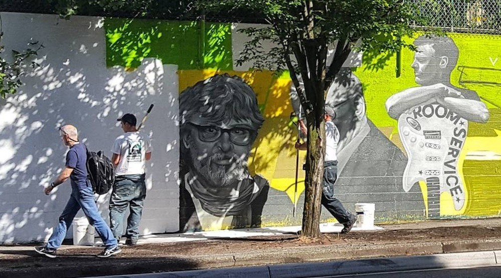Vancouver's iconic Beatty Street mural is being painted over