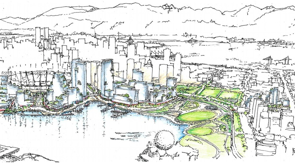 Northeast false creek plan park
