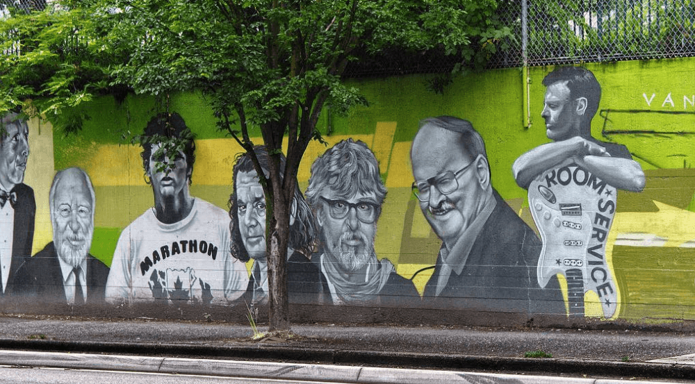 19 photos remembering Beatty Street's iconic mural