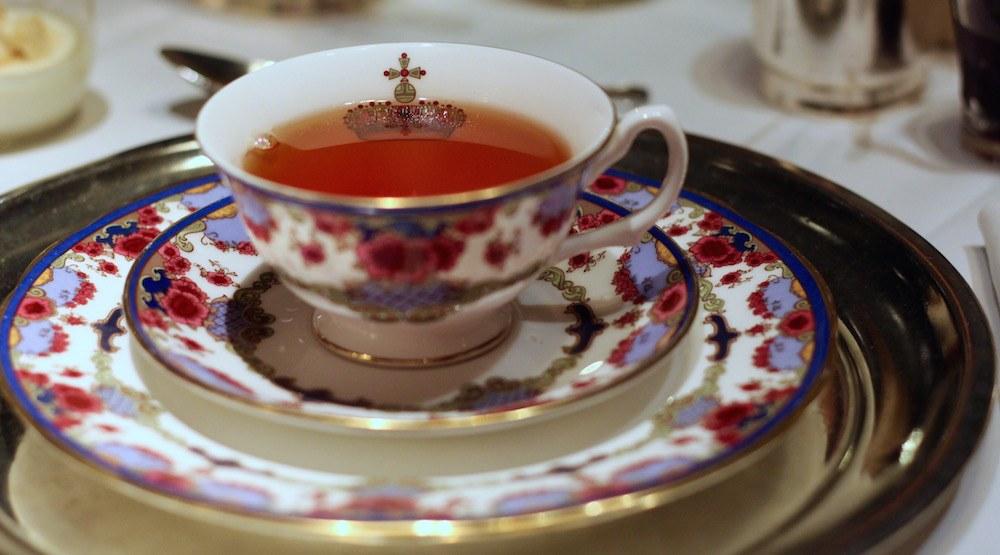 Fairmont hotel vancouver canada 150 tea