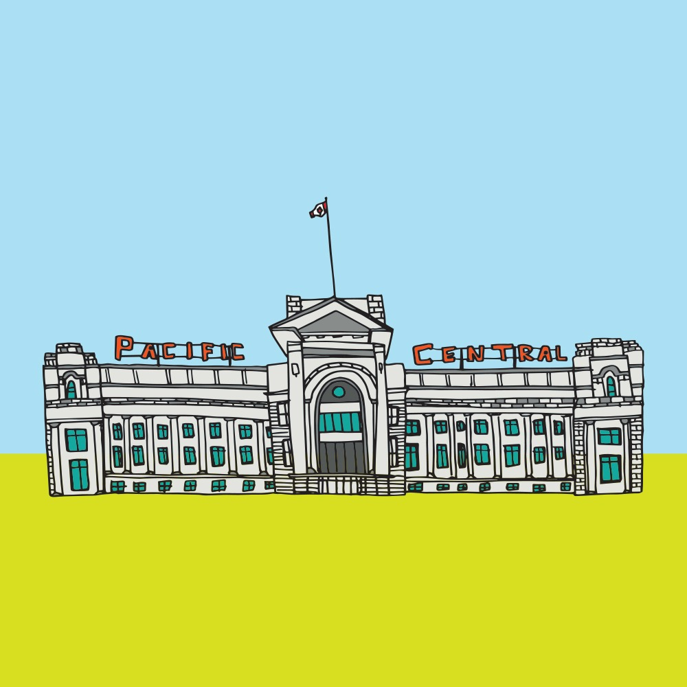Pacific Central Station in Vancouver (Jag Nagra)