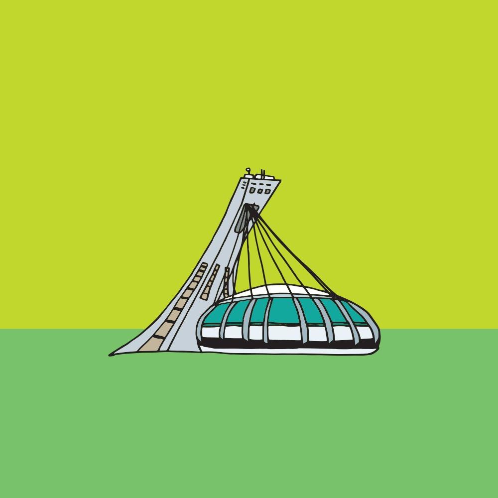 Montreal's Olympic Stadium (Jag Nagra)