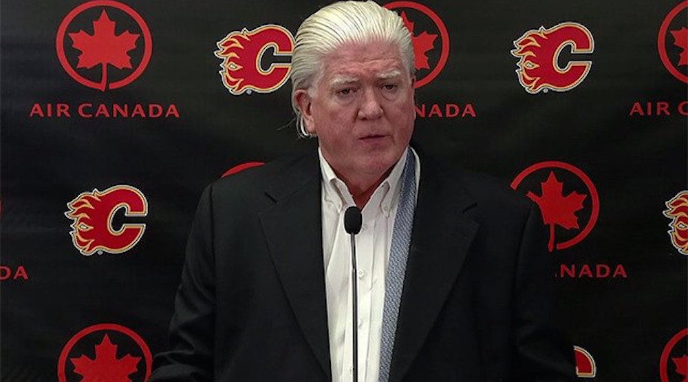 Brian Burke: Flames could leave if new arena isn't built