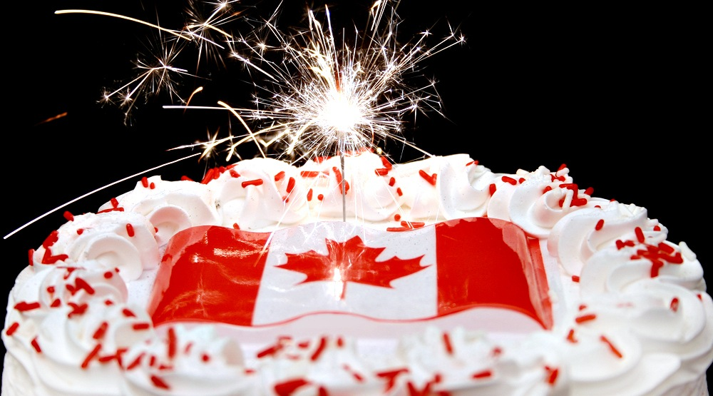 You can get free cake in Montreal this Canada Day