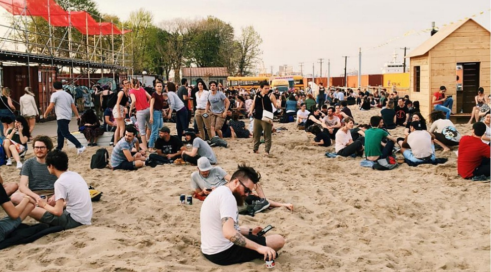 Montreal's beachside village is now open