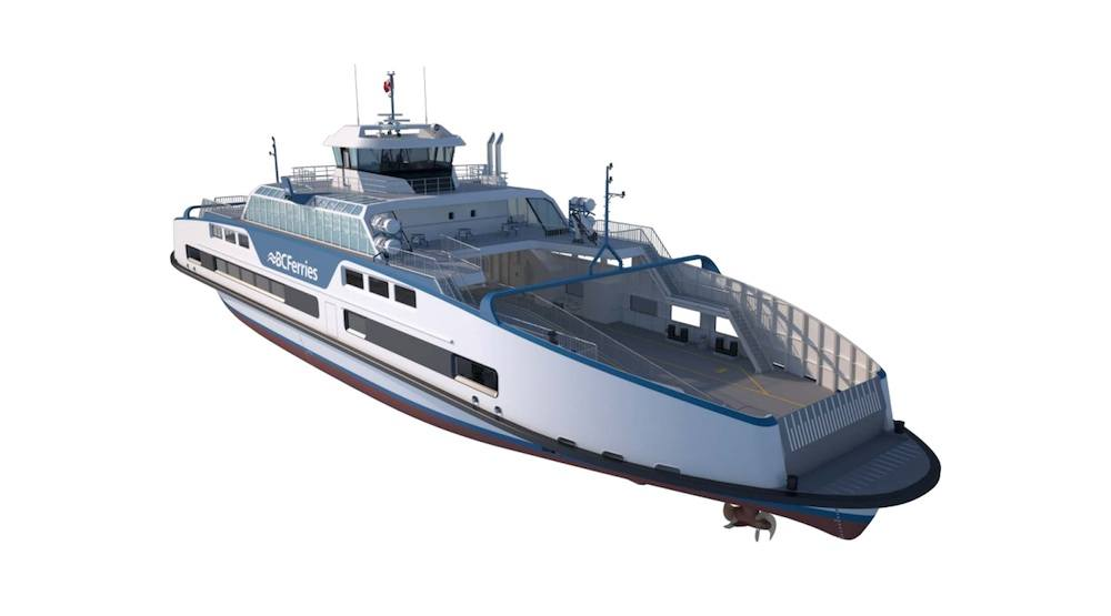 Dutch company to build two new BC Ferries vessels