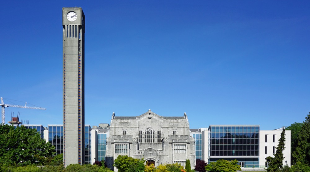 UBC clocktower and library (EQRoy/Shutterstock)