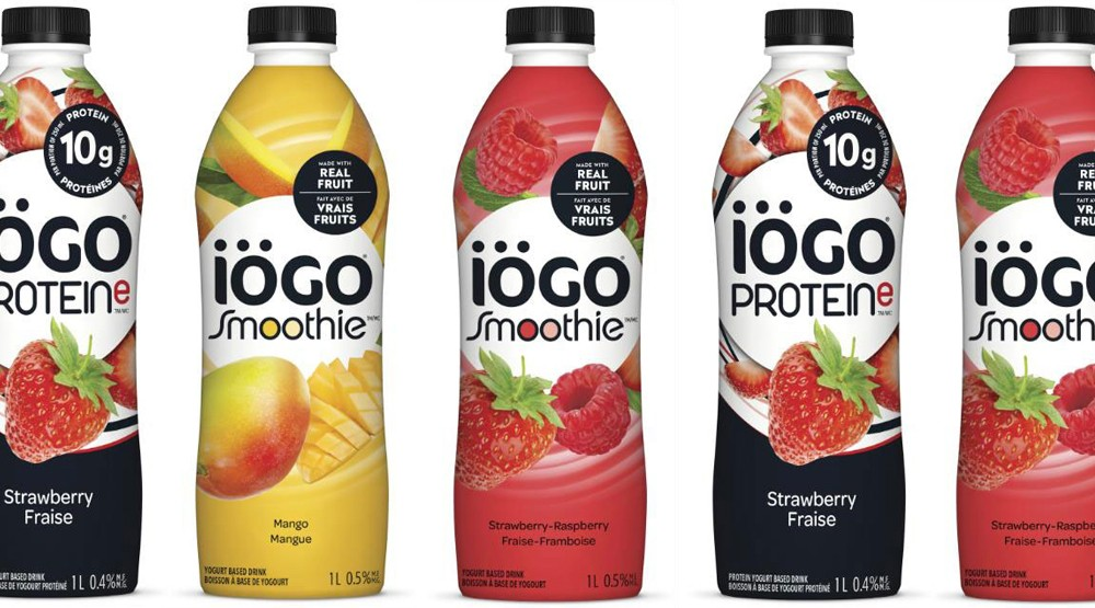 iögo yogurt drinks triggers recall due to presence of plastic pieces