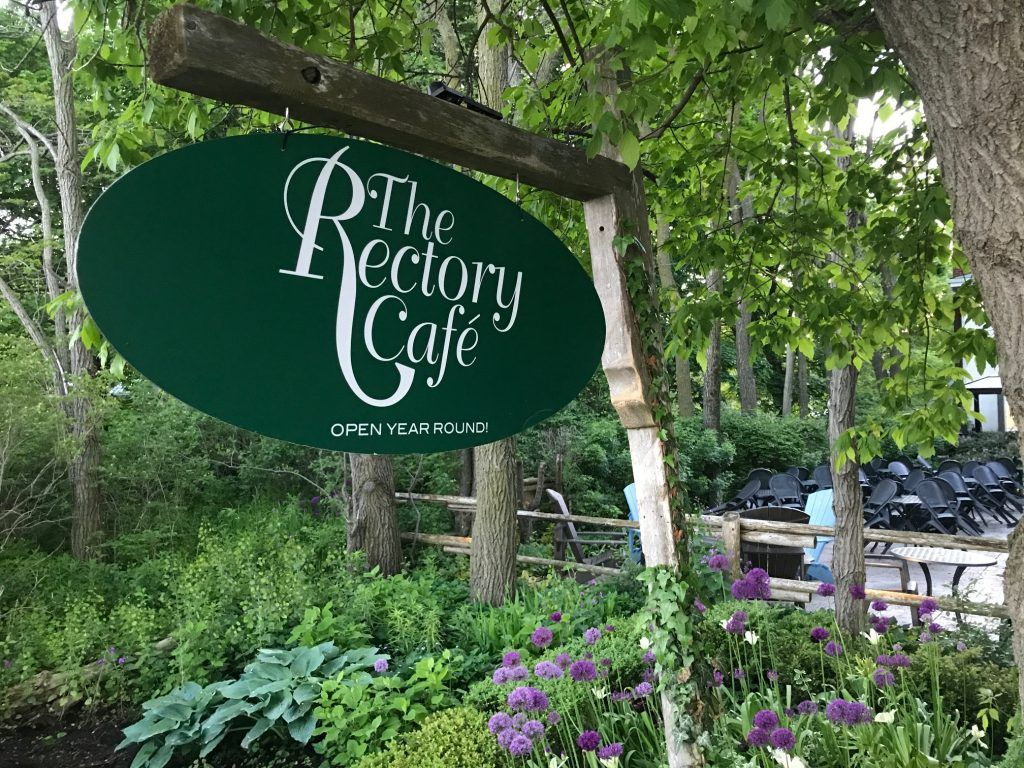 toronto islands rectory cafe