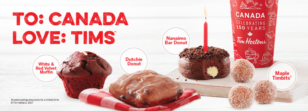 Tim Hortons canada day