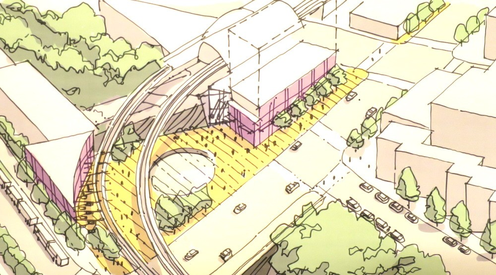 New plaza over Grandview Cut envisioned for Commercial-Broadway Station