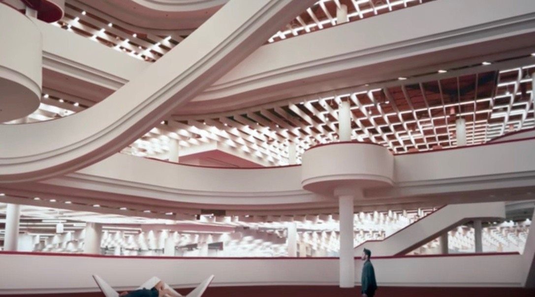 The Weeknd's latest music video stars the Toronto Reference Library