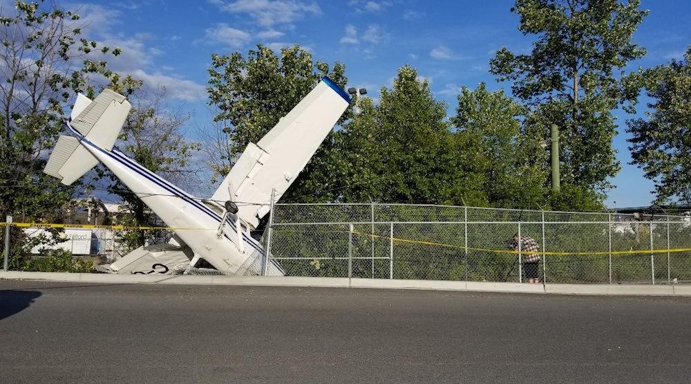 North vancouver cessna plane crash