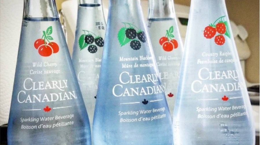 Clearly canadian water