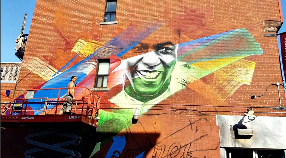 27 photos from the opening weekend of Mural Festival
