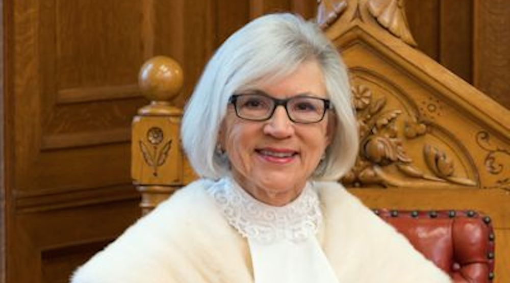 Chief justice supreme court of canada beverley mclachlin