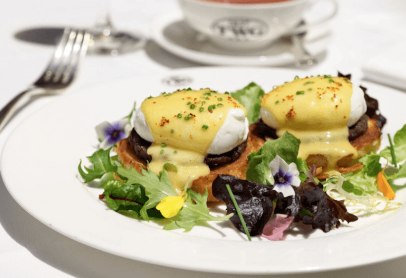 TWG Tea_Eggs Benedict