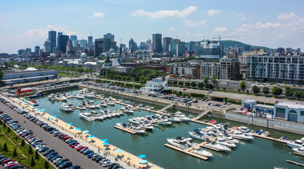 Montreal's cruise ship port has officially reopened