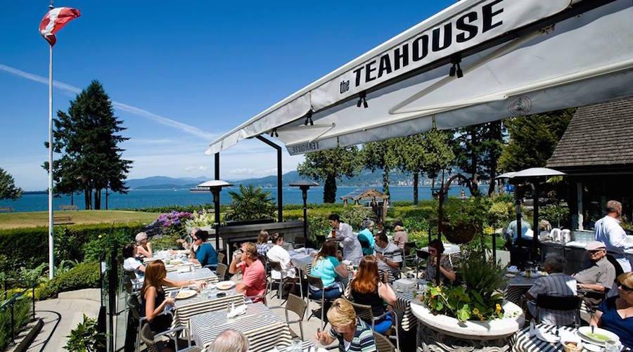 Teahouse stanley park patio