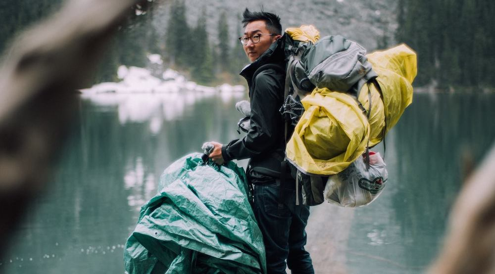 Hiking duo packs almost 40 lbs of other people's garbage out of BC park
