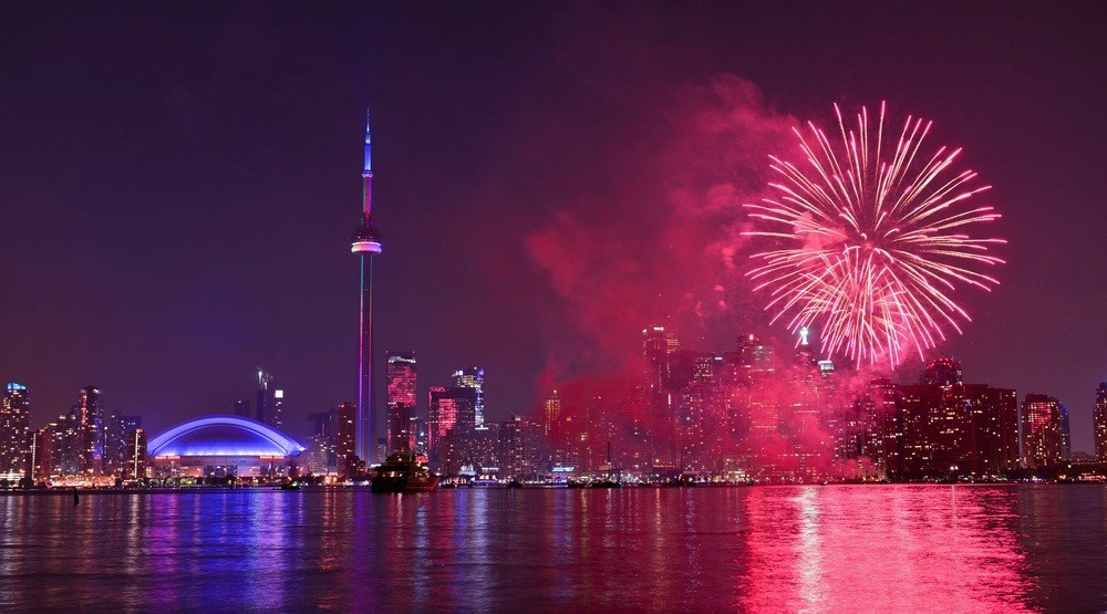 11 places to watch Canada Day fireworks in Toronto