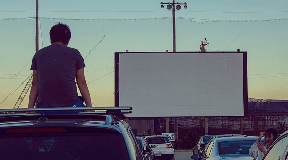 you can go to a drivein movie in toronto this weekend for