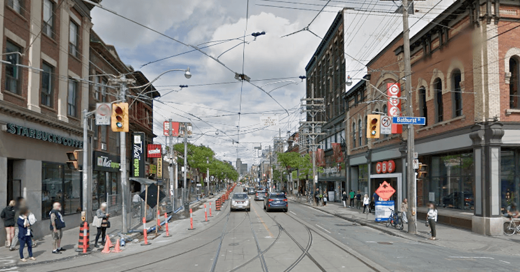 Portion of Queen Street will be reduced to one lane for construction
